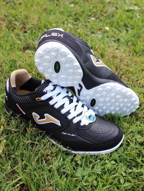 aa04752050339b Football shoes Joma Scarpe Calcio Top Flex 801 Nero Oro Calcetto ...