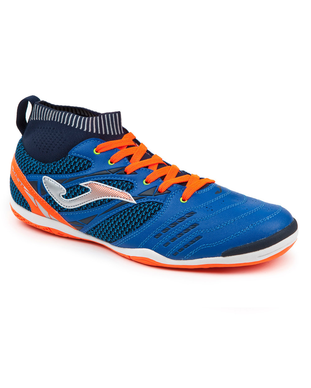 e682be09792d Football shoes Joma Football shoes knit 805 with sock Blau Indoor ...