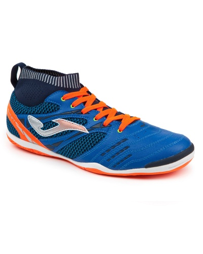 5da0a93aef3c ... Indoor Soccer Shoes joma Indoor sock Blue Man original 805 MEN with  KNIT-Football boots ...