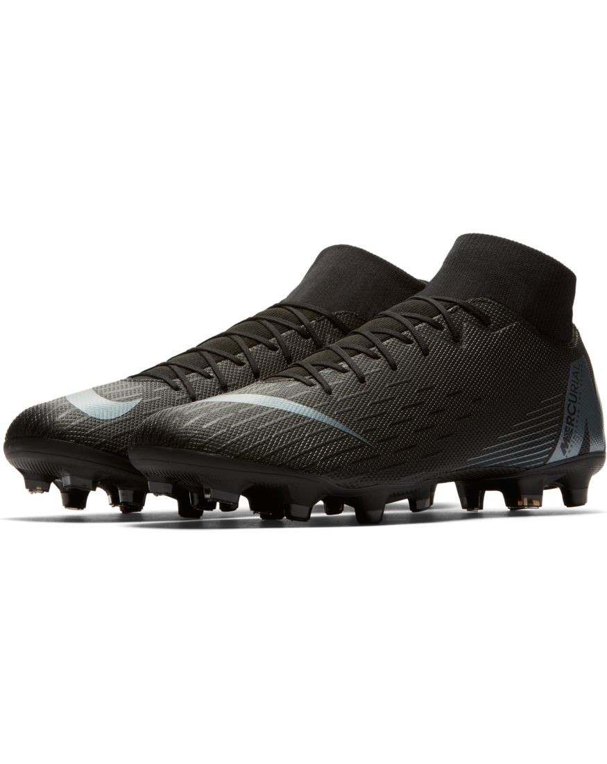 promo code 11433 a08a2 Nike Scarpe Calcio Football Superfly 6 Academy MG Nero con calzino