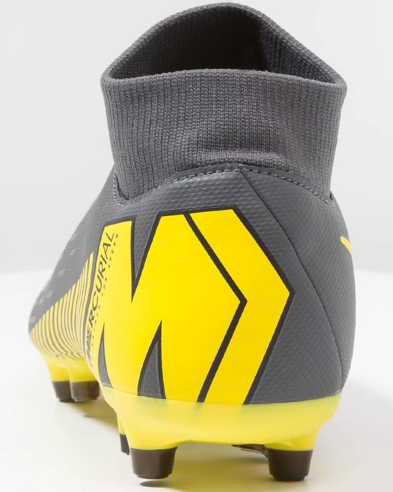 Nike Scarpe Calcio Mercurial Superfly 6 Academy MG Grigio con calzino 3 3  di 9 ... 1609f8fd777