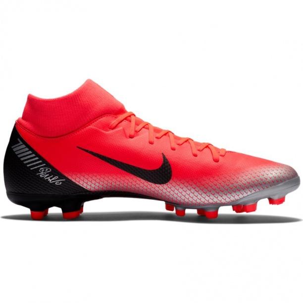 huge discount ec0f8 47322 ... Scarpe calcio Nike Superfly 6 Academy CR7 MG con calzino Uomo 2018 Rosso  - Football boots ...