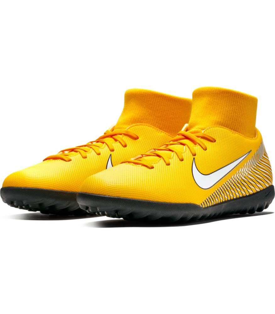 shoes-Nike-Scarpe-Calcio-Mercurial-Neymar-SuperflyX-6-arancione-Calcetto-Turf miniatura 9