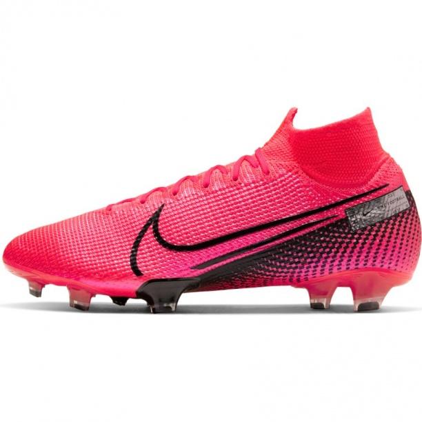 Dettagli su Nike Scarpe Calcio Football Superfly 7 Elite FG UOMO Rosso flyknit