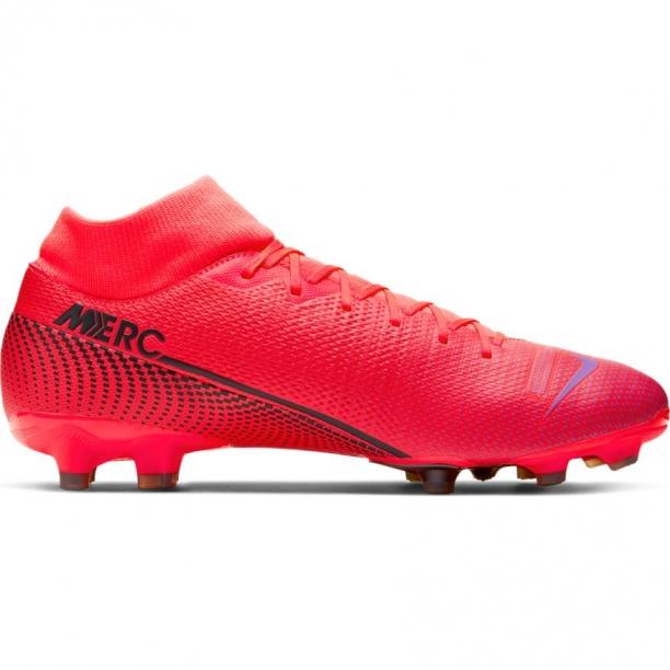 Détails sur shoes Nike Chaussures de football Mercurial Superfly 7 Academy FG MG Rouge