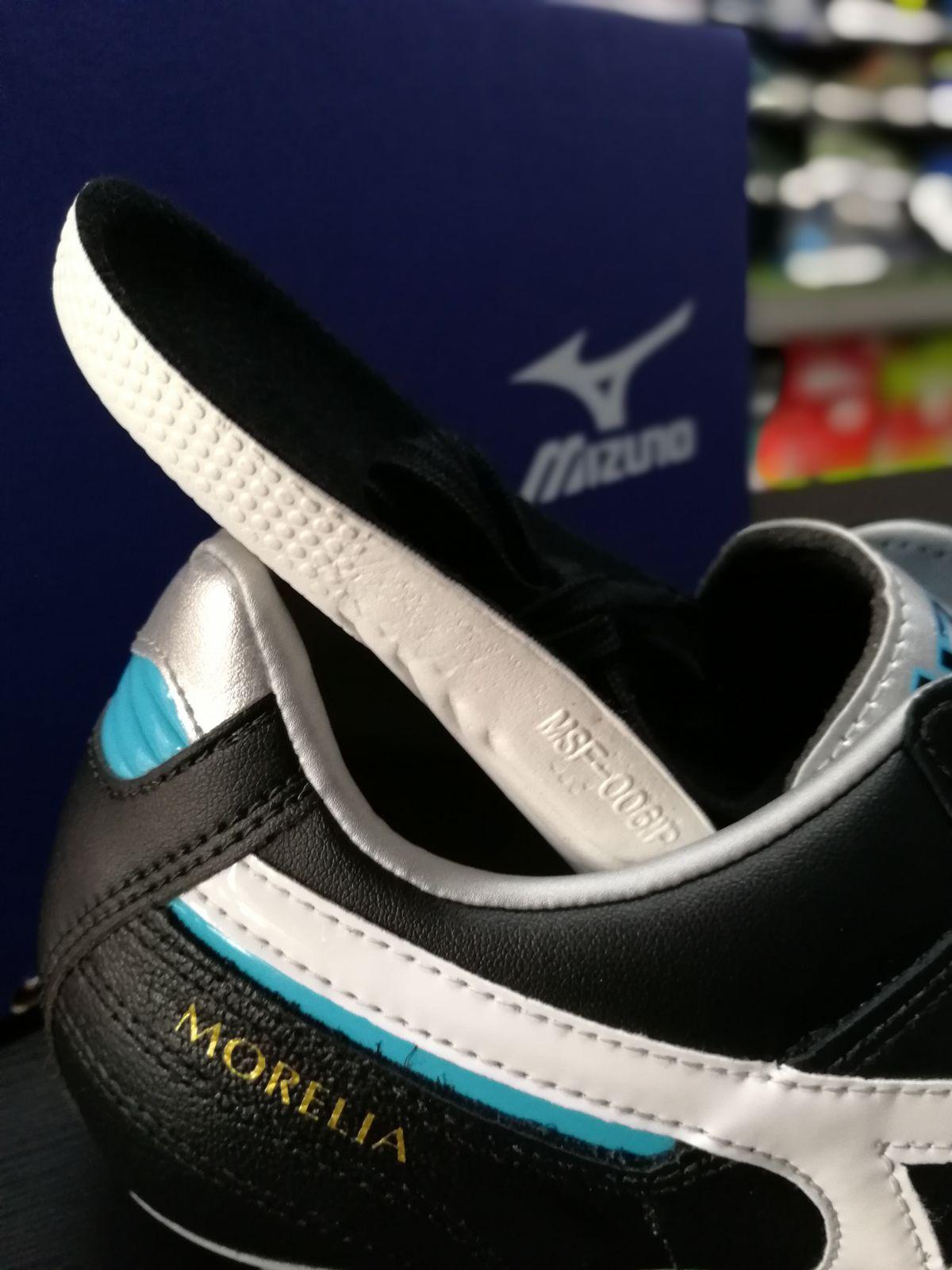 Football-shoes-Mizuno-Scarpe-Calcio-Morelia-II-MD-FG-Nero-2018-Pelle-di-cangur miniatura 11