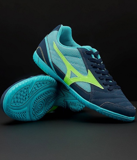 56bd42e63 ... authentic soccer shoes mizuno club room 2 indoor futsal male blue  football boots shoes mizuno club