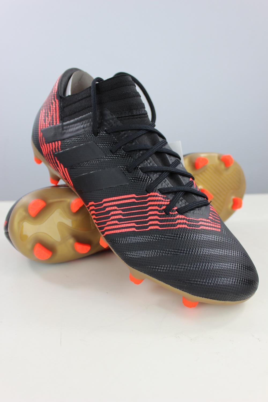 factory authentic 833d3 f05fa Football chaussures Adidas de Nemeziz 17.3 FG Noir sky stalker Homme 4 4  sur 9 ...