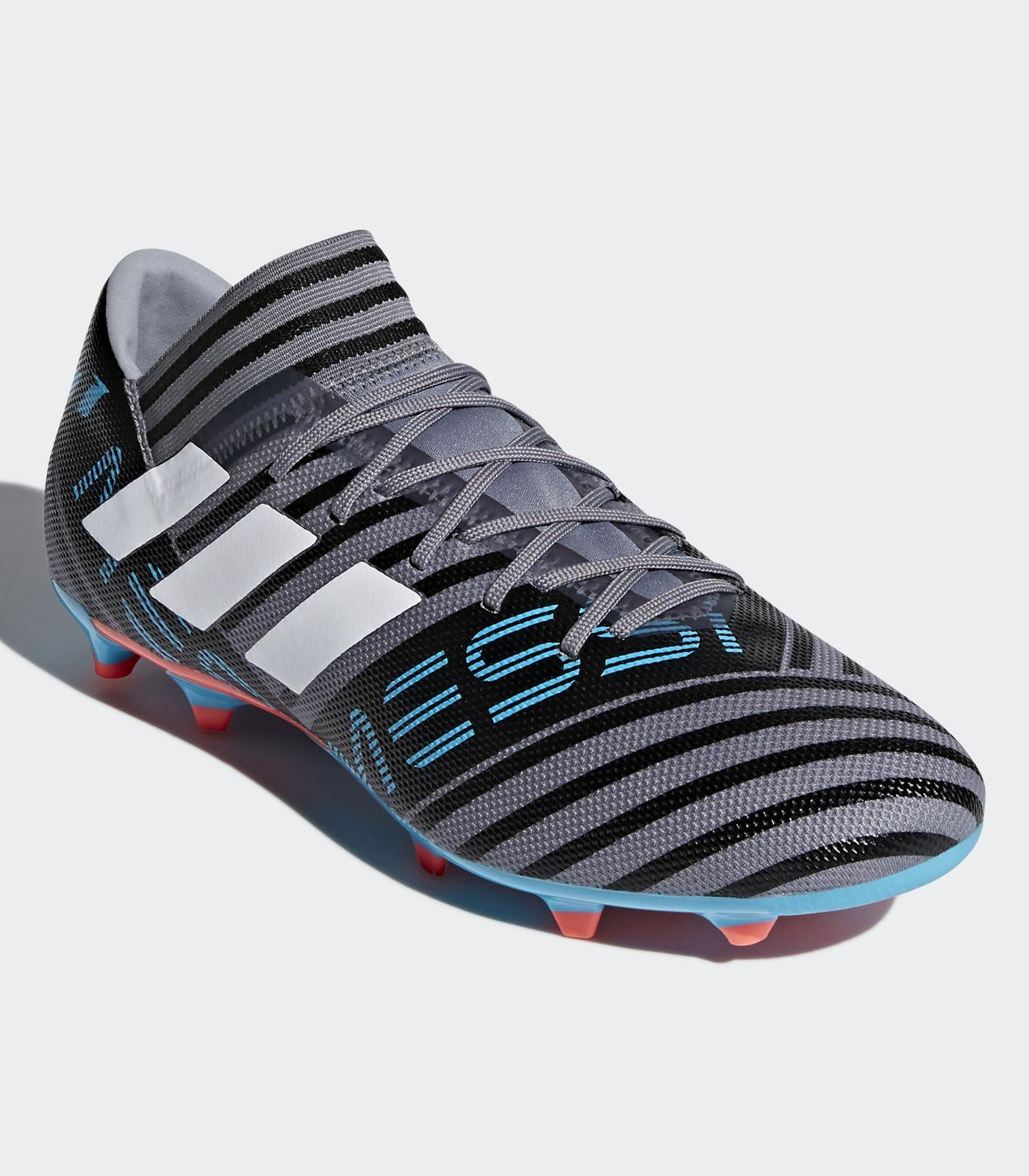 Nemeziz 3 17 Fg Grigio Adidas Football Messi Calcio Shoes Scarpe cR435AjSLq