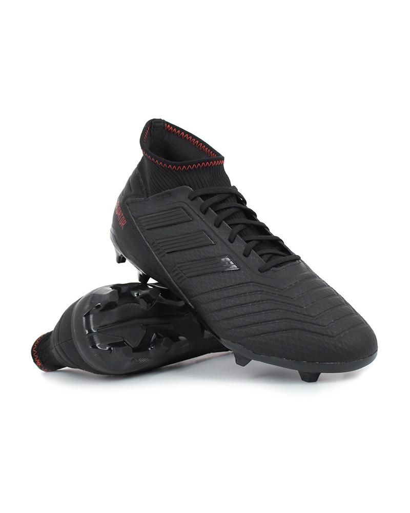 Football Adidas Scarpe Calcio con calzino 19.3 FG bambino Predator ... 1d58cb73816