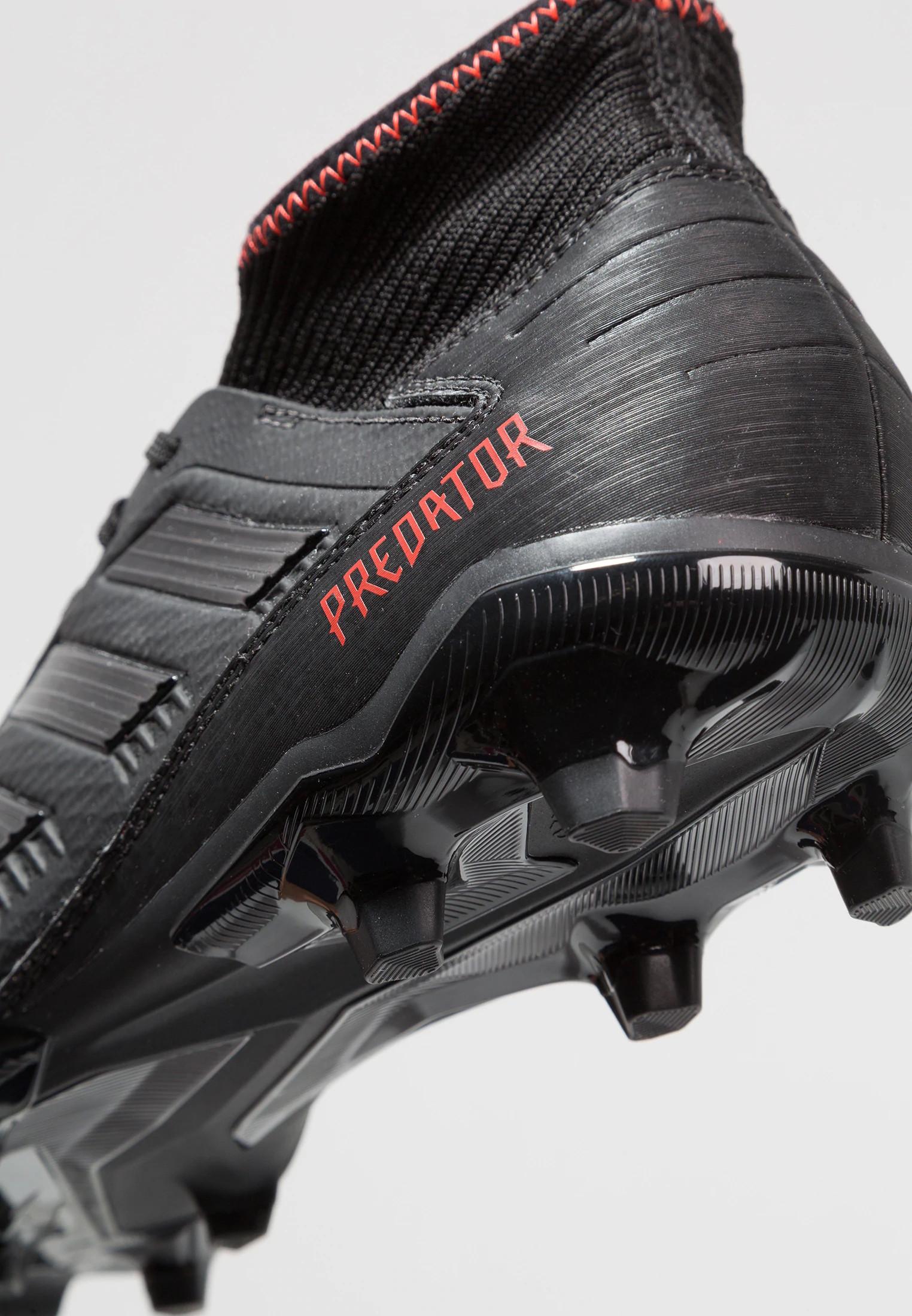 8adbf215d27657 Football boots shoes Adidas Cleats with sock 19.3 FG Boy Predator ...