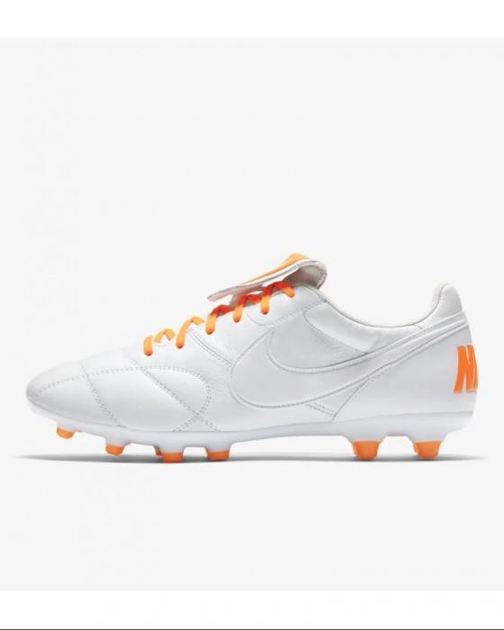 Dettagli su Football boots shoes Nike Scarpe Calcio Tiempo Premier II FG Uomo 2019 Bianco