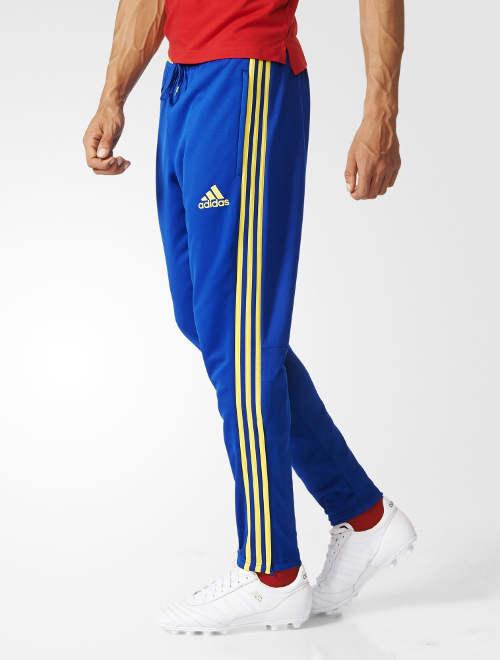 the best attitude fec55 8407a Spagna Spain Adidas Pantaloni tuta Pants Uomo TASCHE a ZIP Training Euro  2016 7 7 di 10 ...