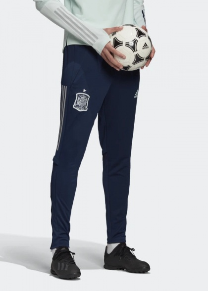 Détails sur Espagne spain spanien Adidas Pantalon De Survêtement Pants Hose EURO 2020 Blue