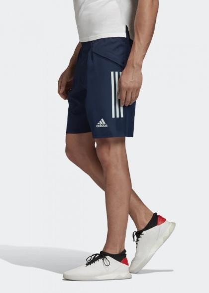 combinare pneumatico Intuizione  Spagna Spain Adidas Pantaloncini Shorts Training DownTime Uomo con TASCHE a  ZI   eBay