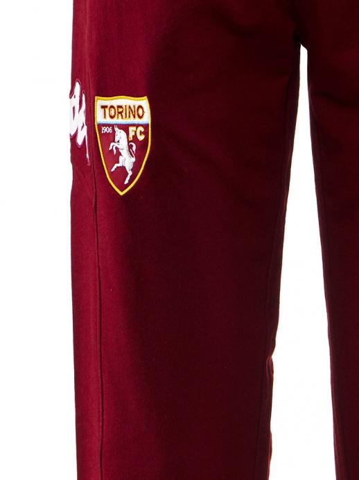 Pantaloni allenamento Fc Torino Kappa tasche con zip 2017 18 amaranto -  Training Pants Fc Torino ... 63b040faf6f3