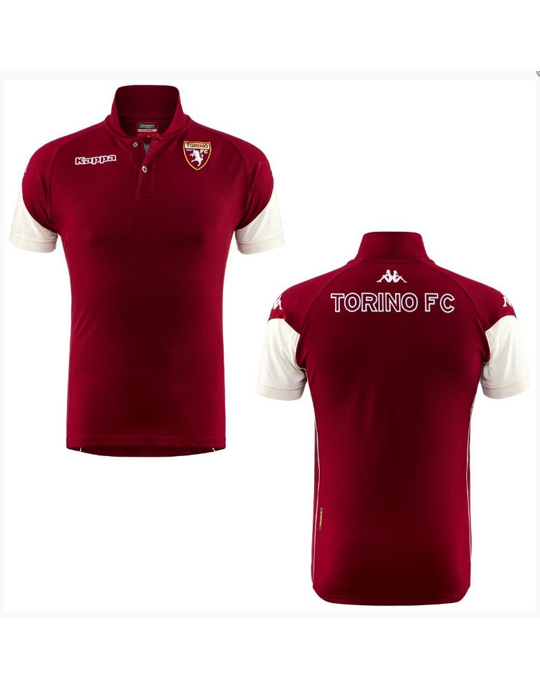 e81845b1ca Torino FC Kappa Polo Maglia rappresentanza ANGAT Amaranto 2017 18 ...