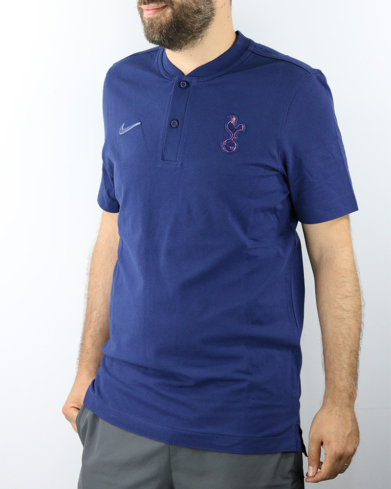 100% De Qualité Tottenham Fc Modern Authentic Polo Maillot Blue 2019 20 Coton