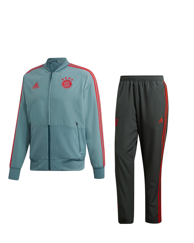 Bayern Monaco Adidas Tuta Rappresentanza Pres Tracksuit 2019