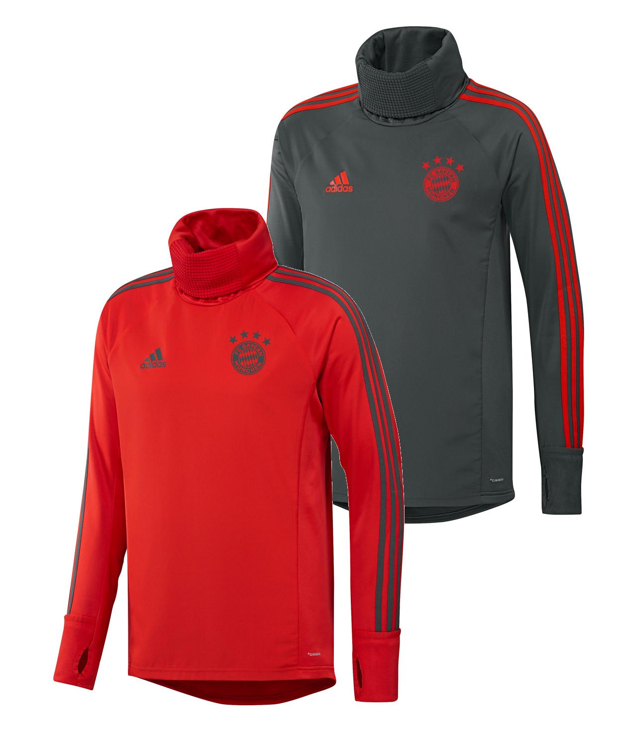 Bayern Munchen Adidas Warm Top Training Sweatshirt 2018 19