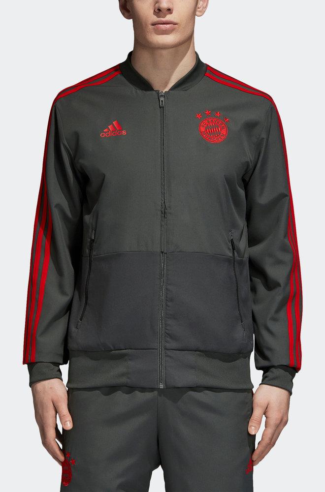 Bayern Munchen Adidas Veste Presentation Jacket 2018 19 Gris wBobDDUT-07143745-718125999