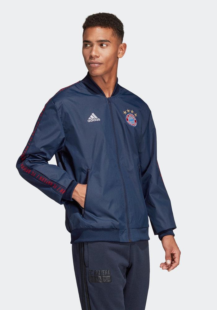 Bayern Monaco Adidas Giacca Pre Gara Pre match Jacket 2019 Anthem azul