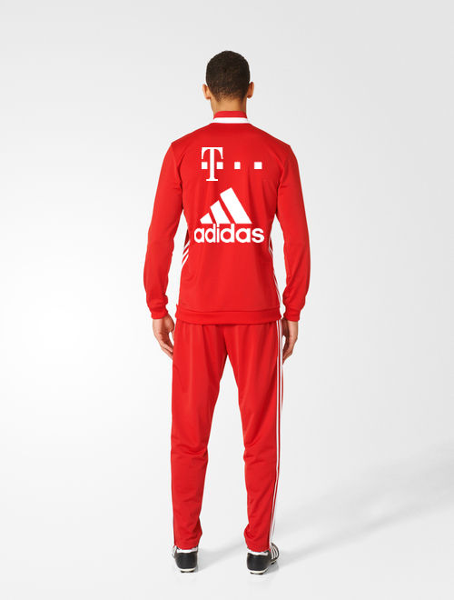 t mobile bayern munchen adidas training trainingsanzug rot. Black Bedroom Furniture Sets. Home Design Ideas