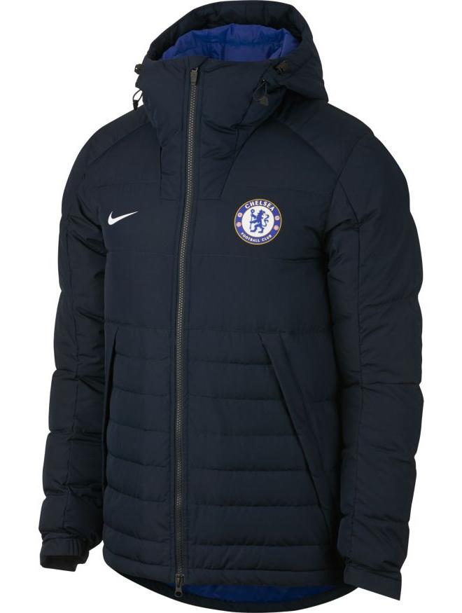 Chelsea Fc Nike Down Padded Jacket winter 2017 18 Men Navy