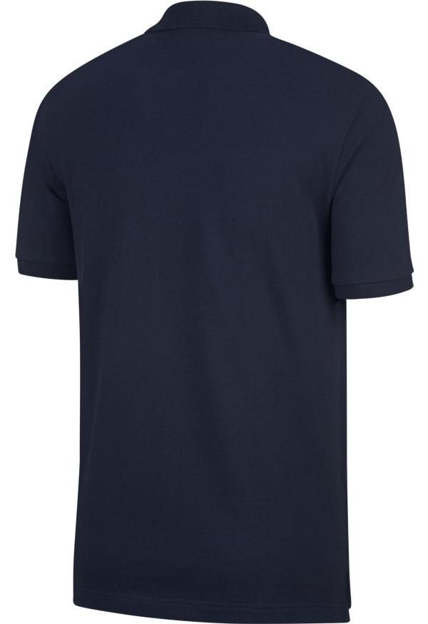 polo maglia francia fff nike sportswear cotone mondiali russia 2018 maniche corte blu. Black Bedroom Furniture Sets. Home Design Ideas