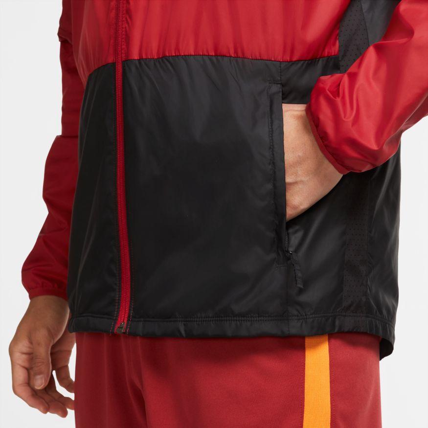 miniatuur 7 -  Galatasaray Nike Giacca vento pioggia all weather Academy AWF UOMO Rosso