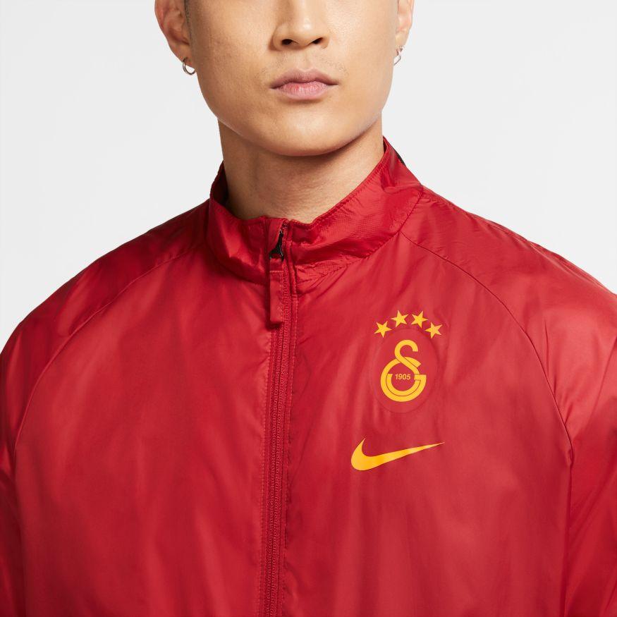 miniatuur 6 -  Galatasaray Nike Giacca vento pioggia all weather Academy AWF UOMO Rosso