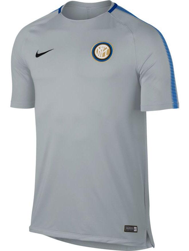 Inter-Fc-Nike-Maglia-Allenamento-Training-Shirt-Grigio-Breathe-Squad-Top-2018