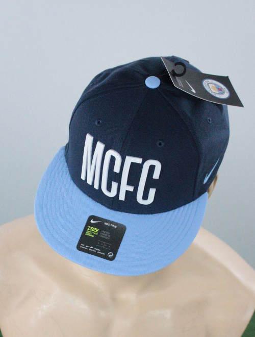 Manchester City Nike Hat Cap Hut Chapeau Adjustable 2017