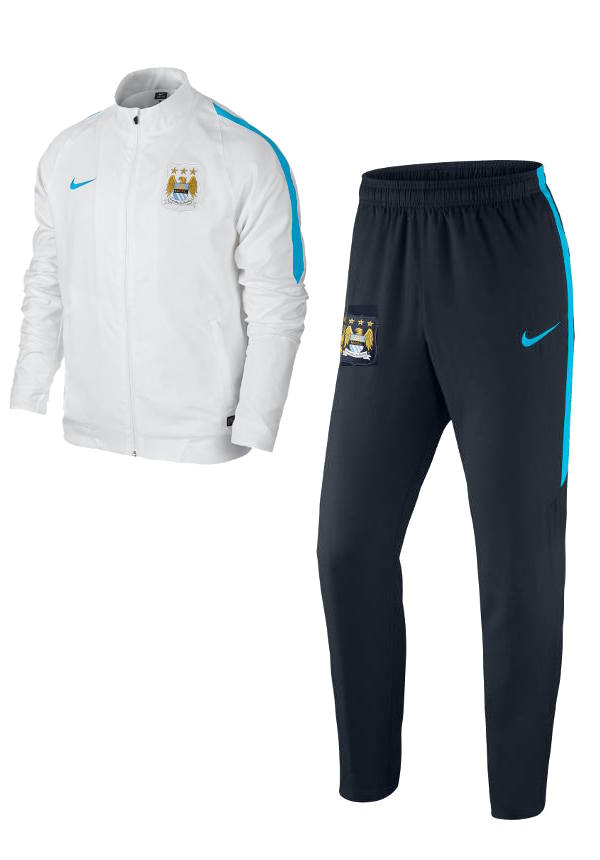 woven manchester city nike presentation trainingsanzug. Black Bedroom Furniture Sets. Home Design Ideas