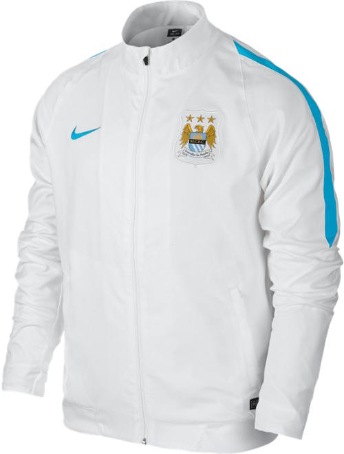 woven manchester city nike training jacke jacket wei 2016. Black Bedroom Furniture Sets. Home Design Ideas
