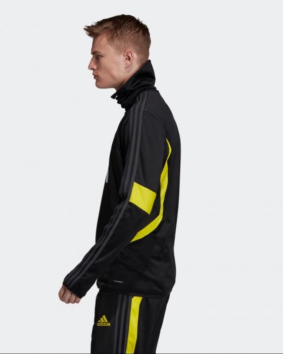Manchester United Adidas Felpa Allenamento Sweatshirt Nero Uomo 2019 20
