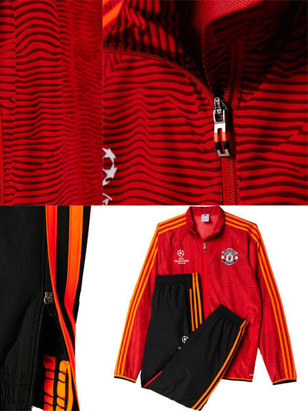 uefa manchester united adidas presentation trainingsanzug. Black Bedroom Furniture Sets. Home Design Ideas