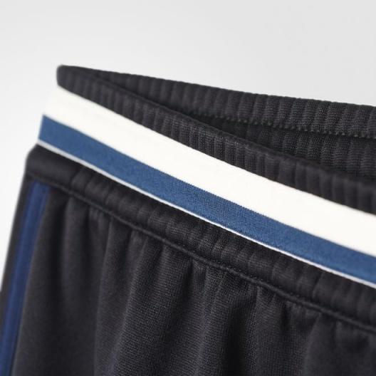 manchester united adidas track pants hose black 2016 17. Black Bedroom Furniture Sets. Home Design Ideas