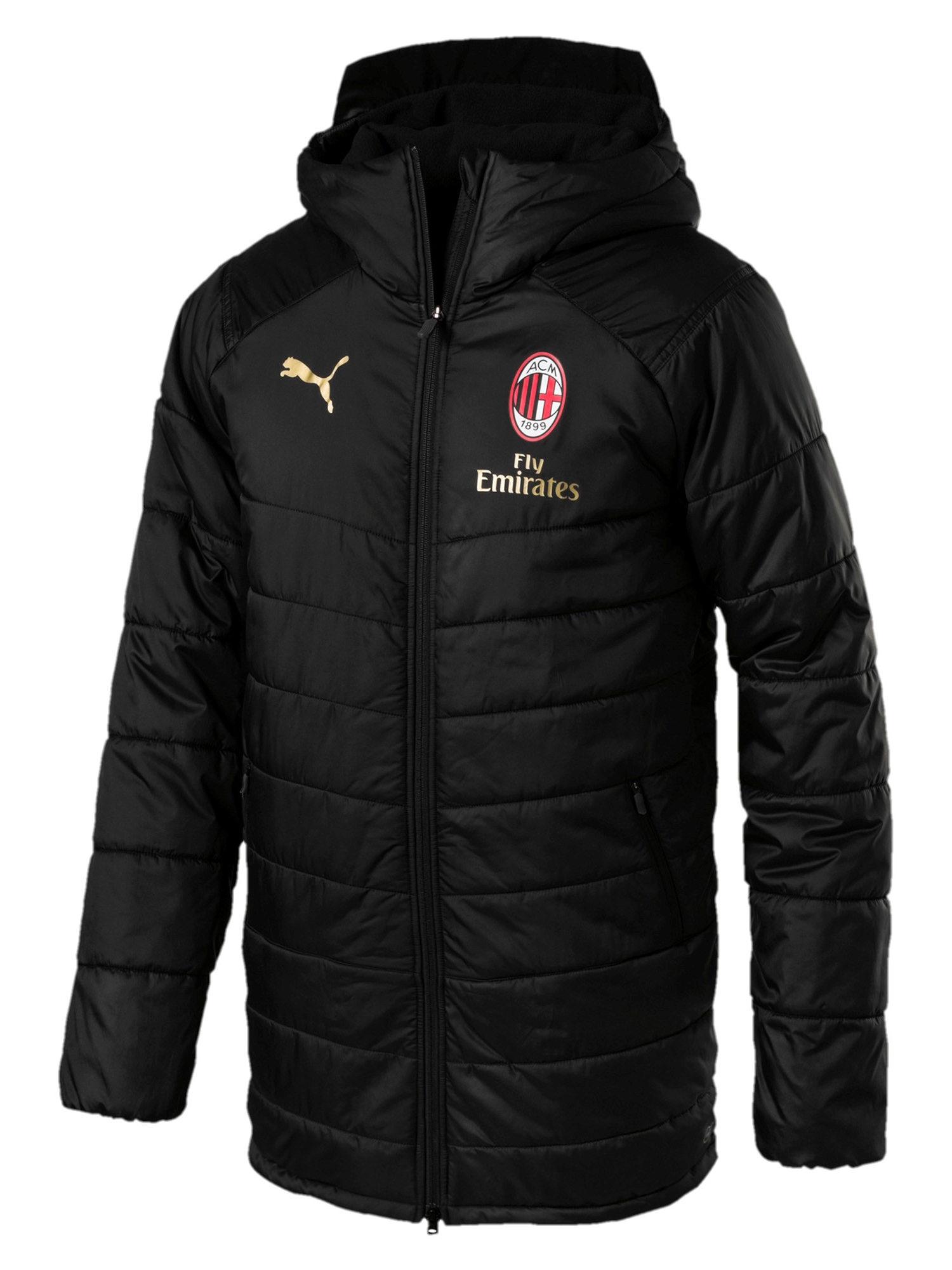 Disinteressato Ac Milan Puma Piumino Giubbotto Giaccone Long Jacket 2018 19 Versione Panchina