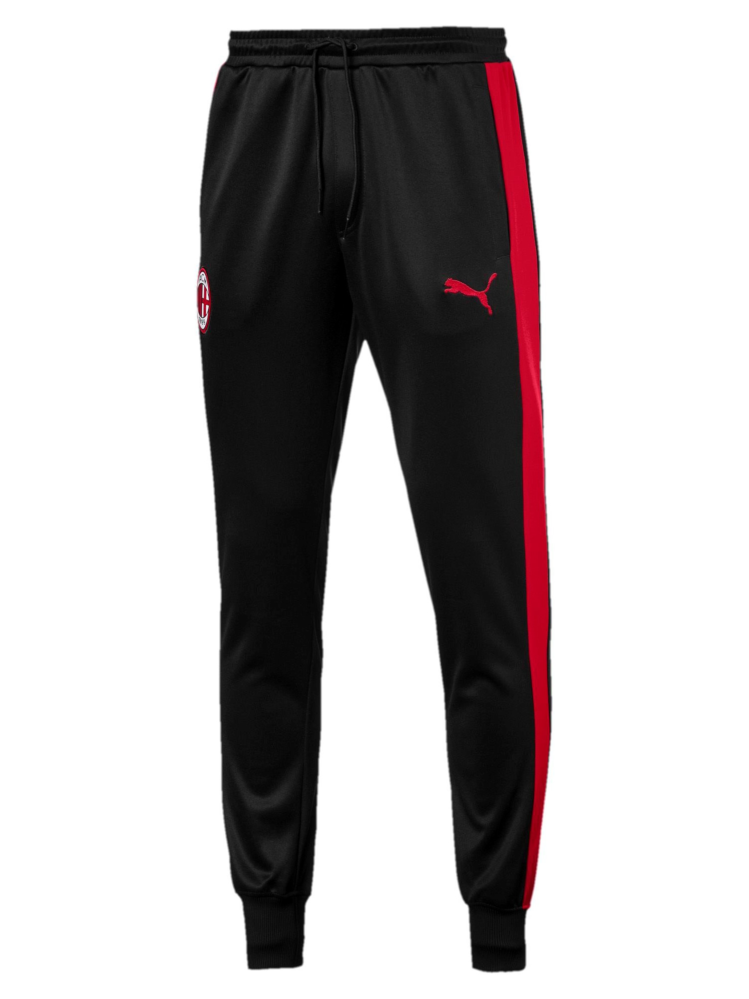 eb83a05b1a9cc9 AC MILAN PUMA Pantaloni tuta Pants 2018 19 Nero T7 Track - EUR 55,00 ...
