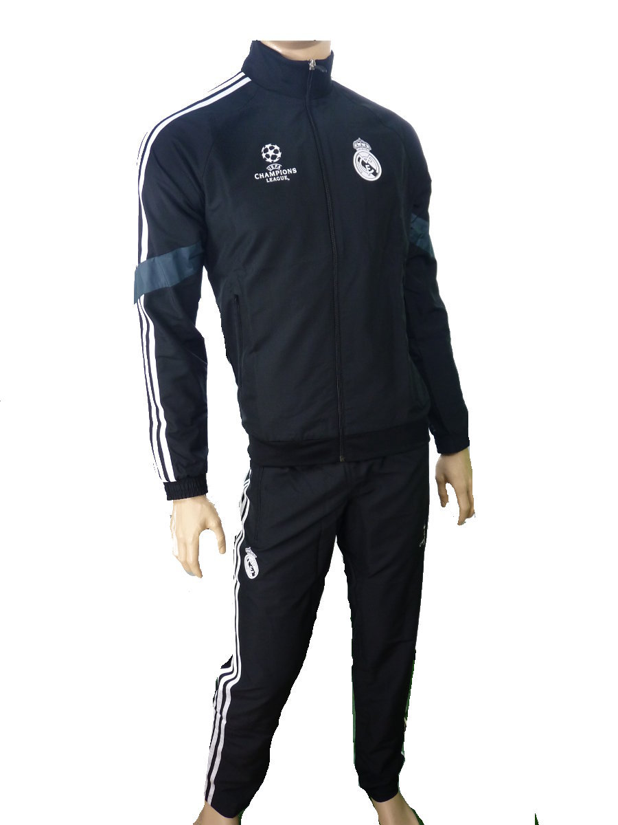 real madrid adidas presentation trainingsanzug ucl 2014 15. Black Bedroom Furniture Sets. Home Design Ideas
