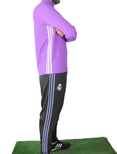 real madrid adidas training trainingsanzug tracksuit lila. Black Bedroom Furniture Sets. Home Design Ideas