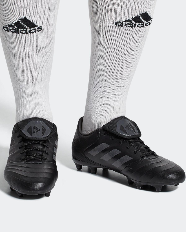CP8958 Football shoes Adidas Scarpe Calcio 18.3 FG Mundial Copa Nero Vera  Pelle 6 6 sur 9 ... 7e492c16bed