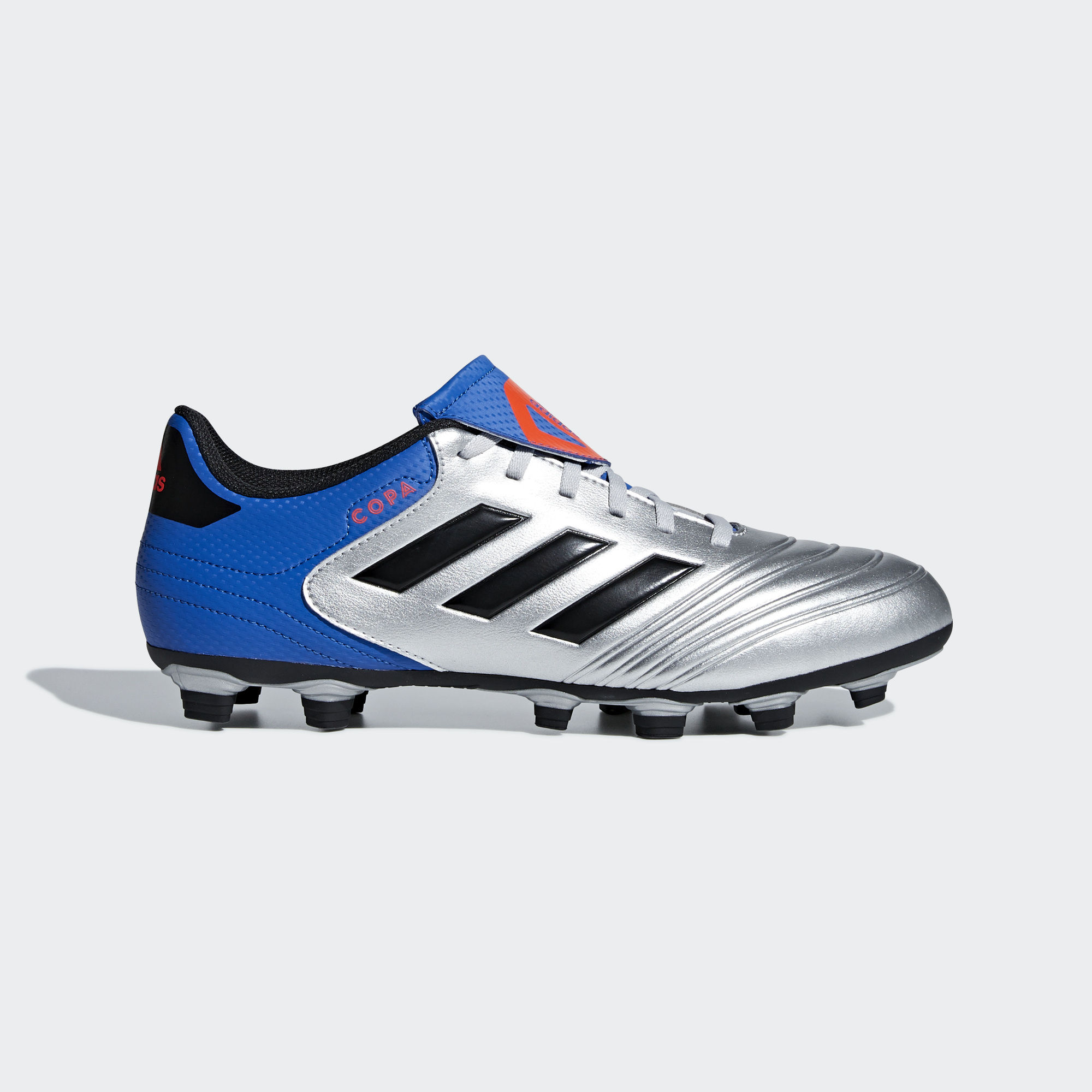 Football shoes adidas scarpe calcio Copa 18.4 FG Silver 2018