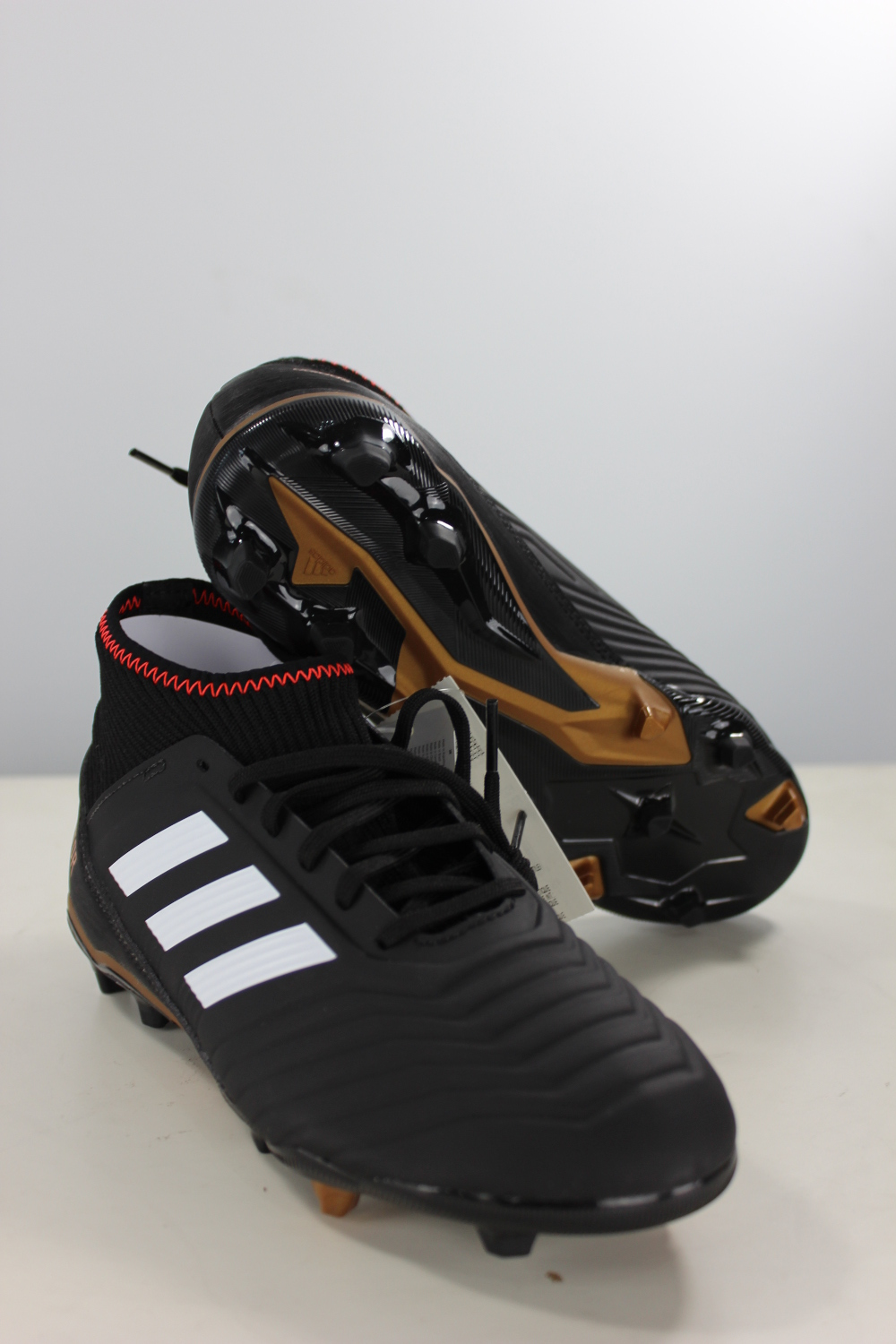 more photos 39184 2fb53 Image is loading Football-boots-shoes-Adidas-Cleats-18-3-FG-