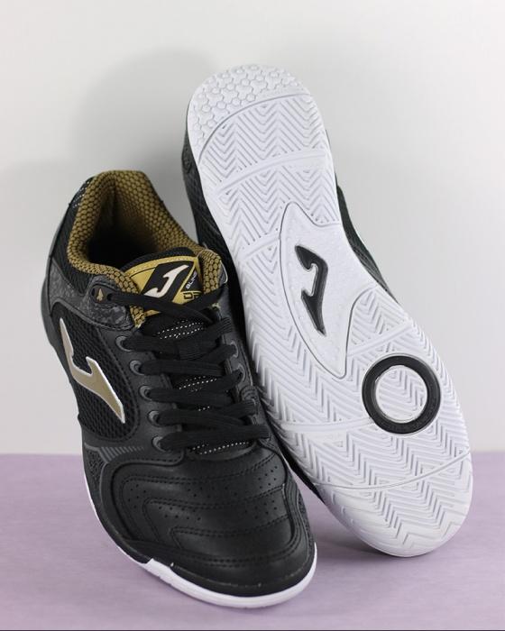 Scarpe Joma Dribling 901 Black-Gold TF DRIS.901.TF Calcetto Futsal