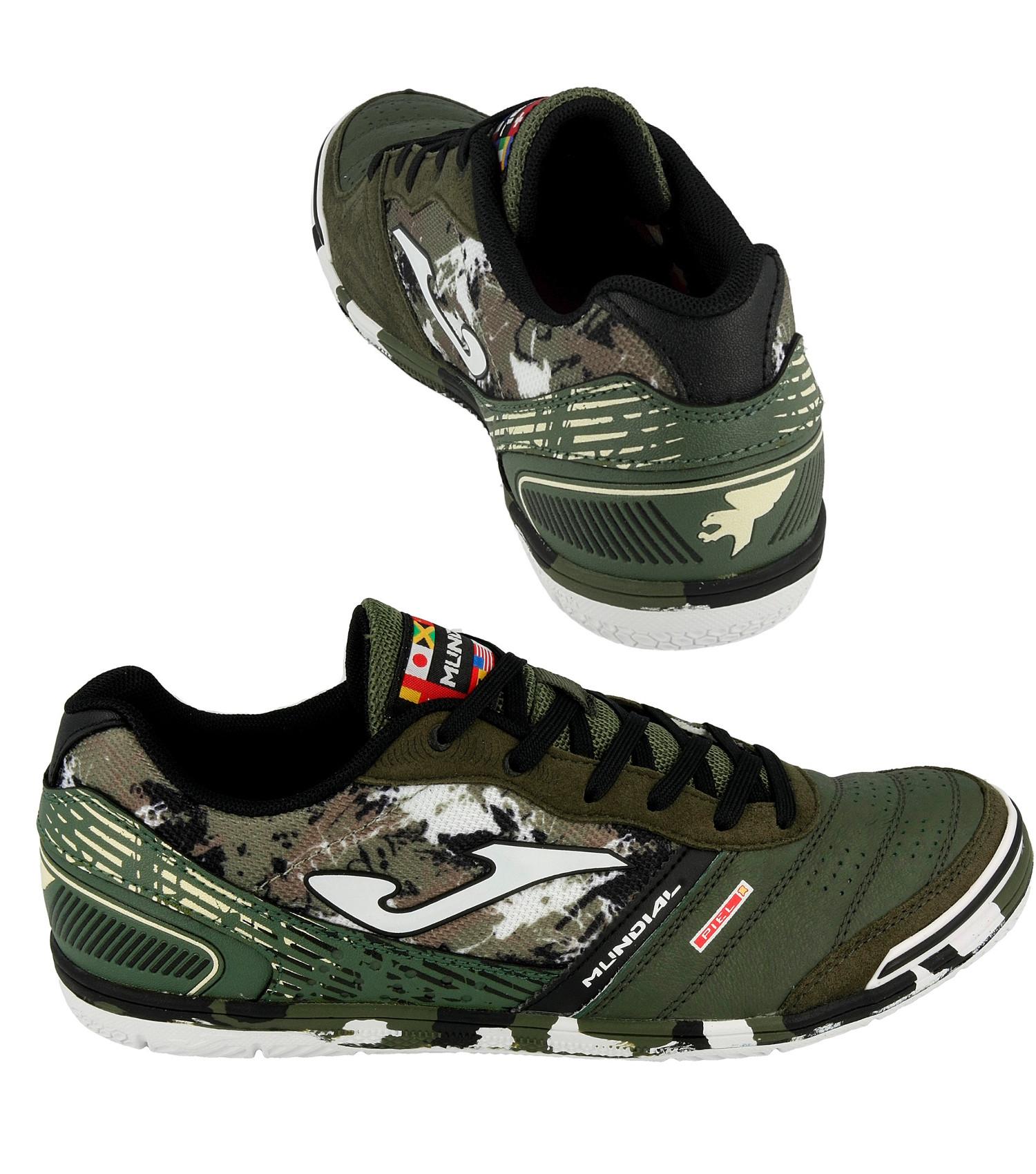 529aac037 Caricamento dell immagine in corso Football-shoes-Joma-Scarpe-Calcio-Mundial -Verde-Indoor-