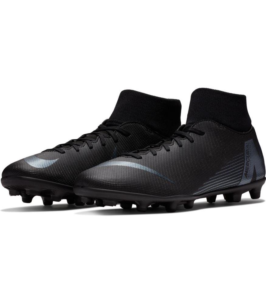 Zapatos botas De Fútbol Nike Botines Mercurial Hombre Negro Fg mg Club súperfly