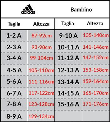 adidas scarpe numeri